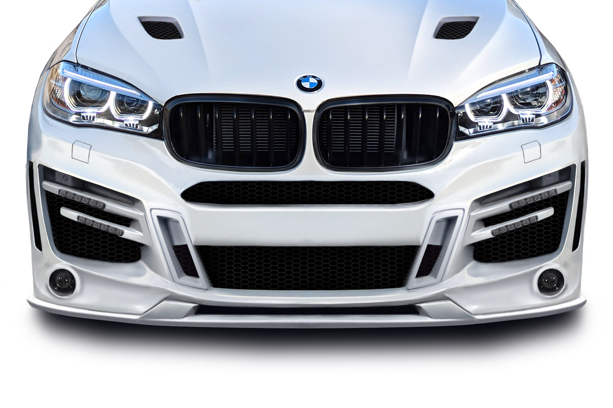 Front Lip Add On Body Kit For 2017 Bmw X6 0 2015 2018 Bmw X6 F16