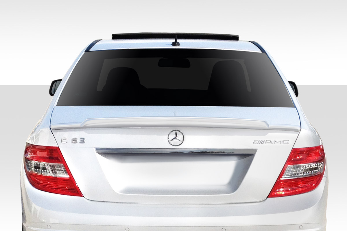 2008 Mercedes C Class  Wing Spoiler Body Kit - 2008-2014 Mercedes C Class W204 Duraflex R-Tech Wing Spoiler - 1 Piece