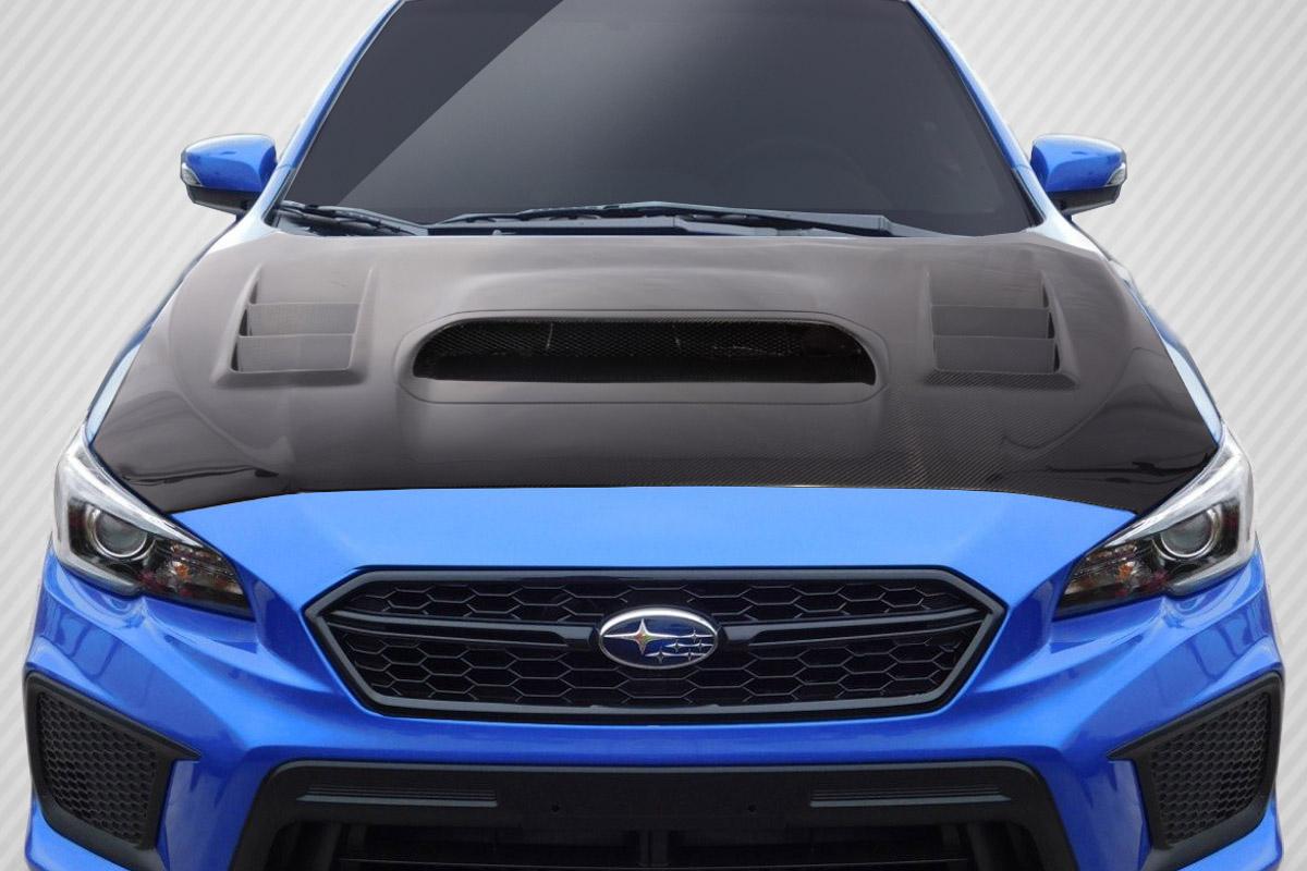 Carbon Fiber Hood Body Kit for 2017 Subaru WRX 0 - 2015-2019 Subaru WRX  Carbon Creations C-1 Hood - 1 Piece