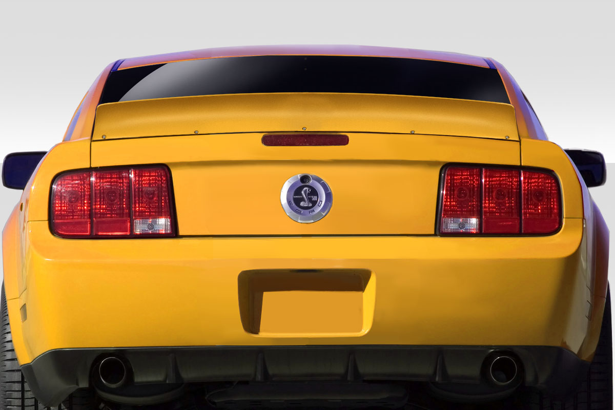 2005 Ford Mustang 0 Wing Spoiler Body Kit - 2005-2009 Ford Mustang Duraflex RBS Wing - 1 Piece