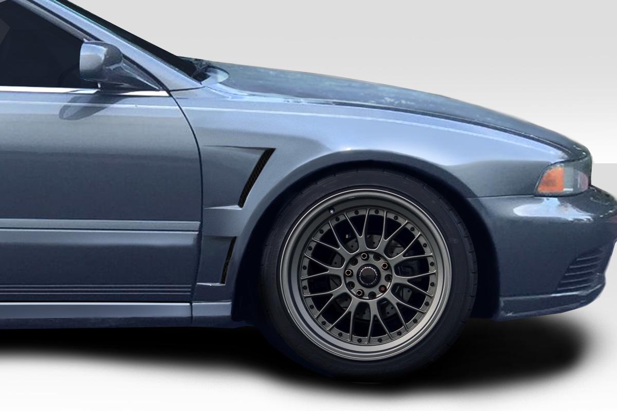 2001 mitsubishi galant fiberglass fender body kit 1999