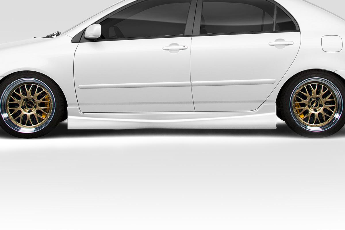 2003-2008 Toyota Corolla Duraflex Target Side Skirts