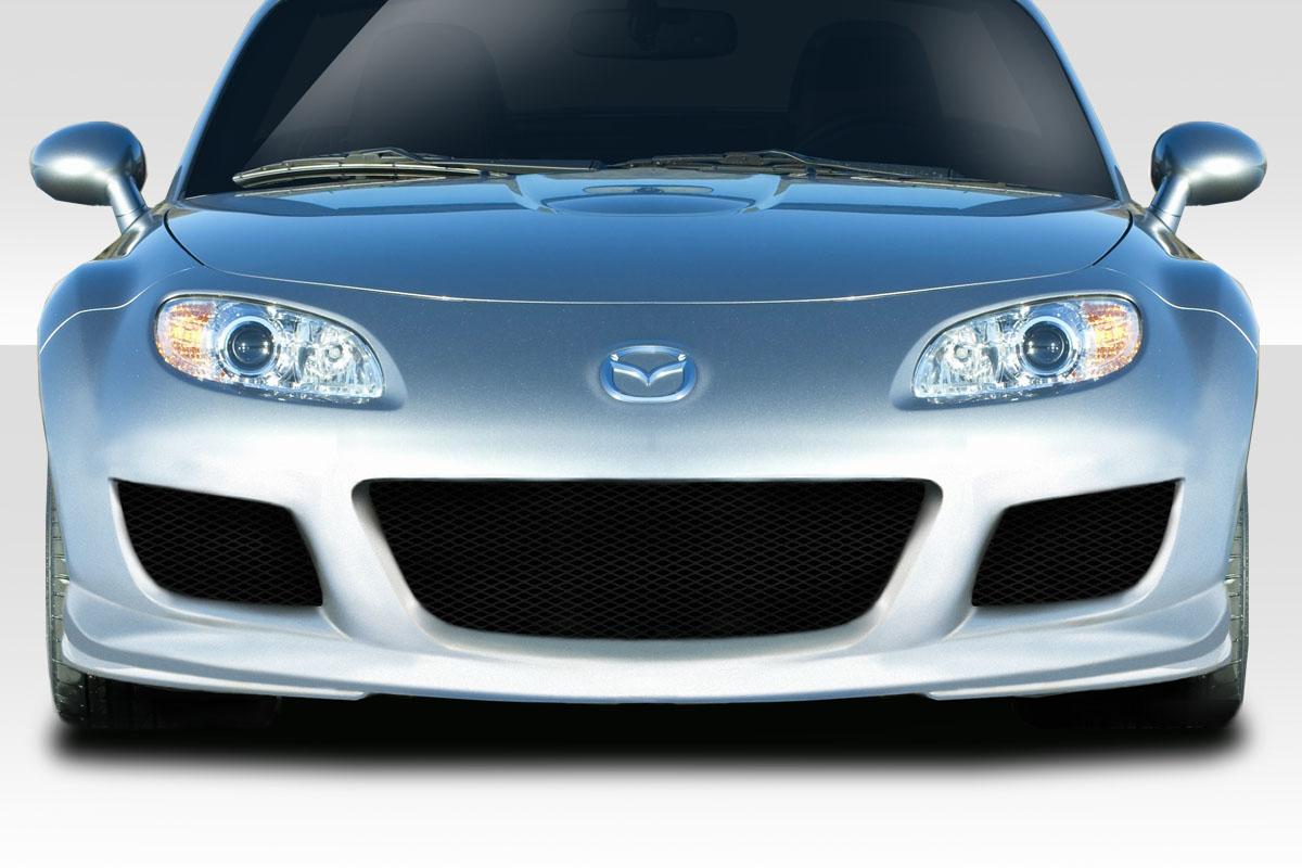 2006 Mazda Miata 0 Front Bumper Body Kit - 2006-2008 Mazda Miata Duraflex X Sport Front Bumper - 1 Piece
