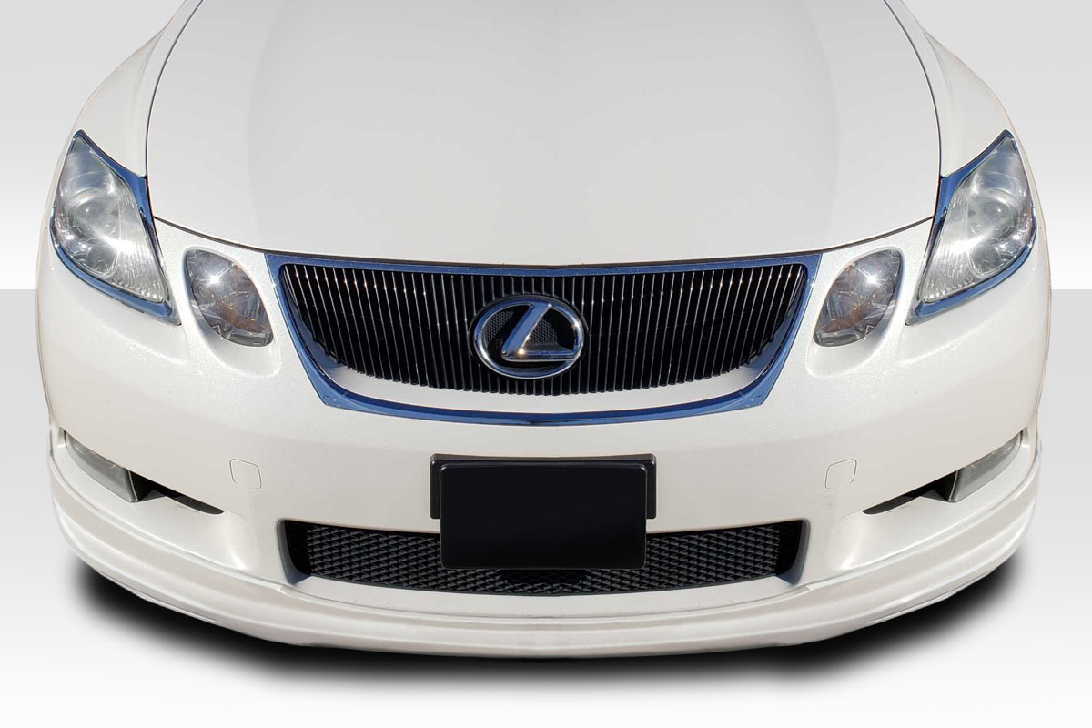 2006 Lexus GS 0 Front Lip-Add On Body Kit - 2006-2007 Lexus GS Series GS300 GS350 GS430 GS450 GS460 Duraflex JPR Front Lip Under Spoiler Air Dam - 1 Piece