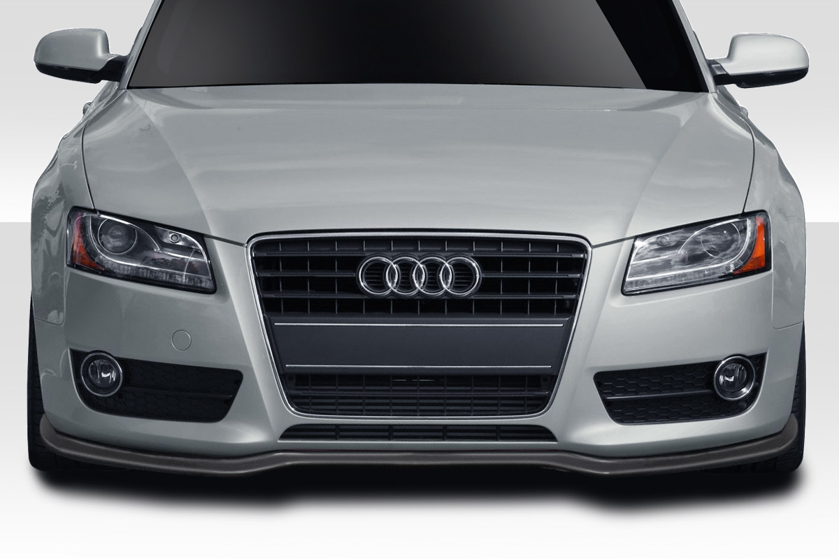 2010 Audi A5 0 Front Lip-Add On Body Kit - 2008-2012 Audi A5 S5 Duraflex Speed Front Lip Under Spoiler - 1 Piece