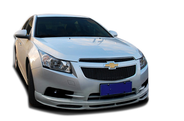 Polyurethane Body Kit Bodykit for 2014 Chevrolet Cruze ALL - Chevrolet Cruze Couture RS Look Body Kit - 4 Piece - Includes RS Look Front Lip Under Spo