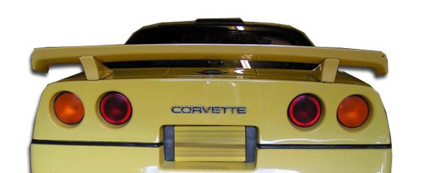 1994 Chevrolet Corvette Wing Spoiler Body Kit - 1991-1996 Chevrolet  Corvette C4 Duraflex C-Force Wing Trunk Lid Spoiler - 1 Piece