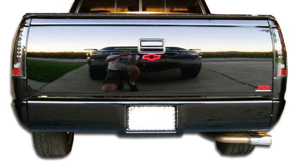 1988 Chevrolet C/K Series Pickup ALL - Polyurethane Rear Lip/Add On Bodykit - 1988-1998 Chevrolet GMC C Series / K Series Polyurethane Roll Pan - 1 Pi