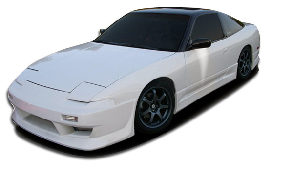 1994 Nissan 240SX HB - Polyurethane Body Kit Bodykit - Nissan 240SX HB Couture Hiro Body Kit - 4 Piece - Includes Couture Hiro Front Bumper Cover (104