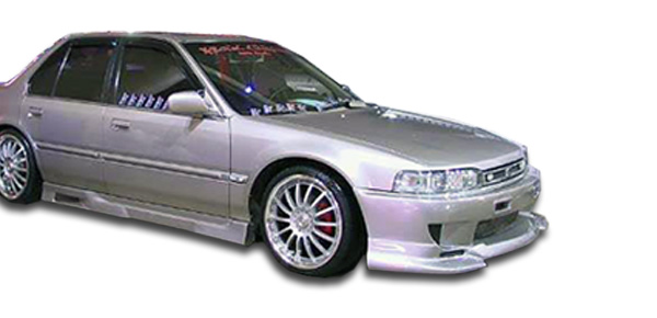 Brightt Duraflex ED-GIM-845 TR-N Side Skirts Rocker Panels 2 Piece Body Kit Compatible With Civic 2006-2011