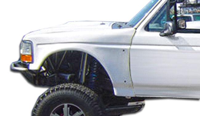F Inbulgefenders on 1996 Bronco Bumper