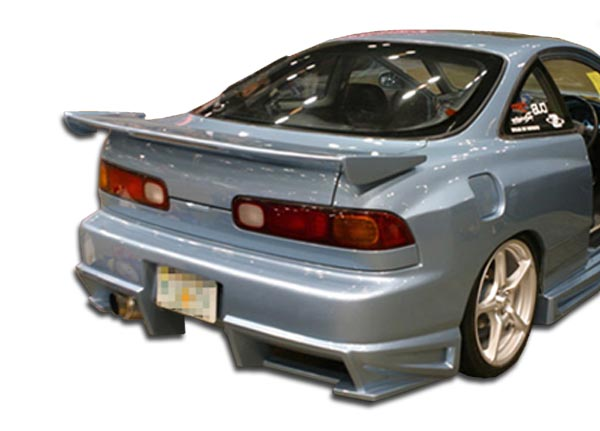 1994 2001 acura integra 2dr duraflex bomber rear bumper. Black Bedroom Furniture Sets. Home Design Ideas