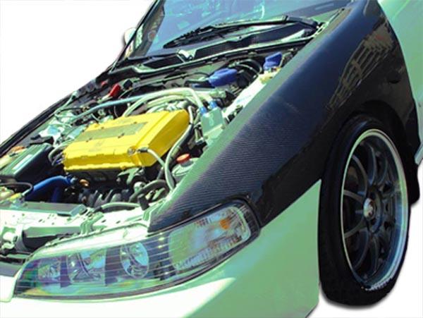 Acura Integra JDM OEM Carbon Fiber Creations Body Kit Fenders - Acura integra jdm parts