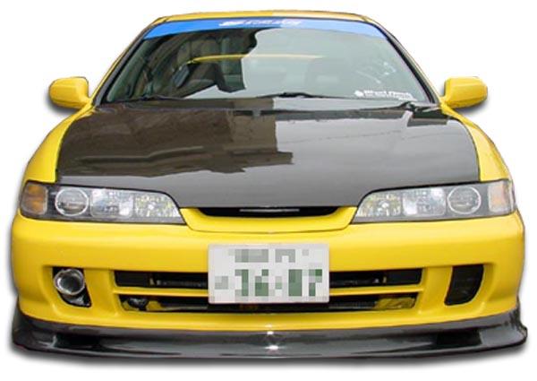 Acura Integra JDM Spoon Carbon Fiber Front Bumper Lip Body Kit - Acura integra jdm parts