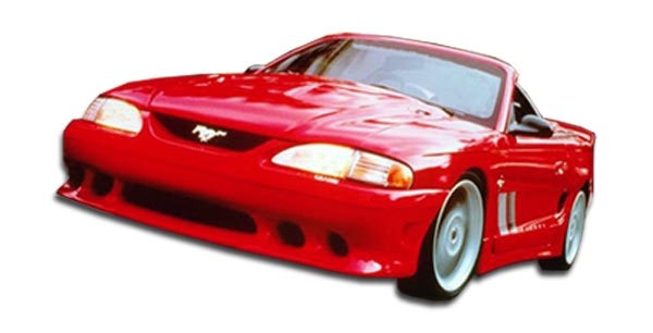 Polyurethane Bodykit Bodykit for 1994 Ford Mustang ALL - 1994-1998 Ford Mustang Polyurethane Colt Body Kit - 7 Piece - Includes Colt Front Bumper Cove
