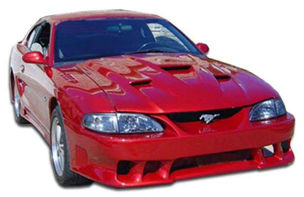 1998 Ford Mustang ALL - Polyurethane Body Kit Bodykit - Ford Mustang Couture Colt 2 Body Kit - 4 Piece - Includes Colt 2 Front Bumper Cover - Polyuret