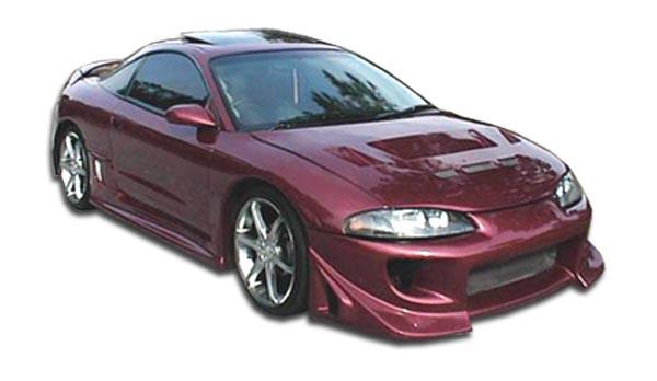 1997 Mitsubishi Eclipse ALL - Polyurethane Bodykit Bodykit - 1997-1999 Mitsubishi Eclipse Eagle Talon Polyurethane Blits Body Kit - 4 Piece - Includes
