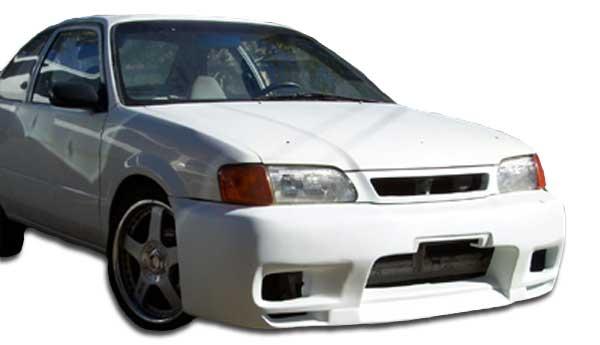 1996 toyota tercel front bumper body kit 1995 1998 toyota tercel duraflex r33 front bumper cover 1 piece overstock xsv custom auto xsv custom auto