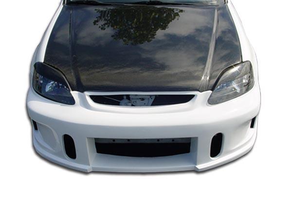 Front Bumper Cover Kit For 1996-1998 Honda Civic w//Bumper Absorber//Reinforcement
