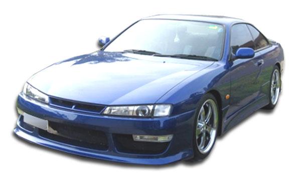 1997-1998 Nissan 240SX Duraflex V-speed 2 Body Kit - 4 Piece