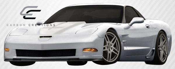 Body Kit Bodykit for 2004 Chevrolet Corvette ALL - Chevrolet Corvette C5 Carbon Creations ZR Edition Body Kit - 10 Piece - Includes ZR Edition Front B