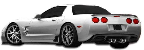 1 Piece Duraflex Replacement for 1997-2004 Chevrolet Corvette C5 ZR Edition Wing Trunk Lid Spoiler