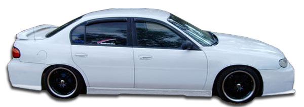 1997 2003 Chevrolet Malibu Duraflex Vip Side Skirts 2 Piece Body Kit Ebay