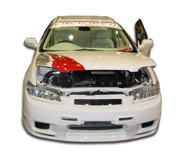 Fiberglass+ Front Bumper Body Kit For 2000 Honda Accord