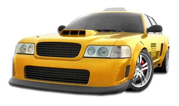 1998 2007 ford crown victoria duraflex gt concept front bumper 1 piece body kit ebay