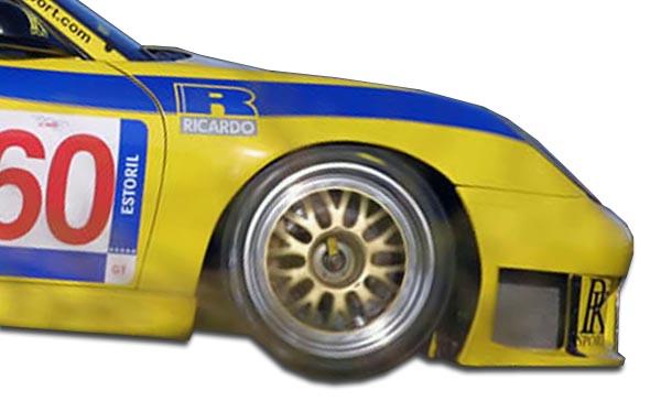 Fender Body Kit for 1999 Porsche 996 - 1999-2001 Porsche ...