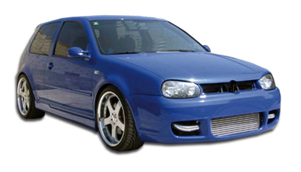 1999 Volkswagen GTI 2DR - Polyurethane Bodykit Bodykit - 1999-2005 Volkswagen GTI R32 Couture Body Kit - 4 Piece - Includes R32 Front Bumper Cover - P