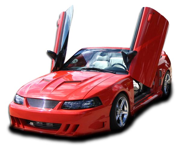 1999 Ford Mustang ALL - Polyurethane Front Bumper Bodykit - 1999-2004 Ford Mustang Couture Demon Front Bumper Cover - 1 Piece