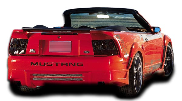 1999 2004 ford mustang couture demon rear bumper cover 1. Black Bedroom Furniture Sets. Home Design Ideas
