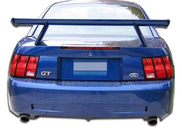 2003 ford mustang fiberglass rear bumper body kit 1999. Black Bedroom Furniture Sets. Home Design Ideas