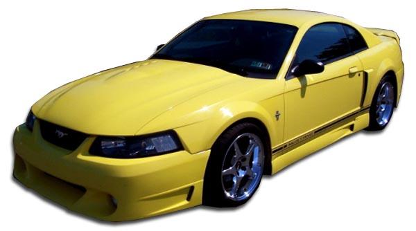 99 04 Ford Mustang Cvx Duraflex Side Skirts Body Kit