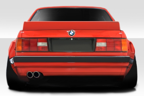 FIBERGLASS REAR BUMPER FOR BMW 3 SERIES E30