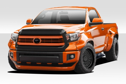 Welcome To Extreme Dimensions Item Group 2014 2020 Toyota Tundra Duraflex Circuit Fender Flares Kit 4 Piece