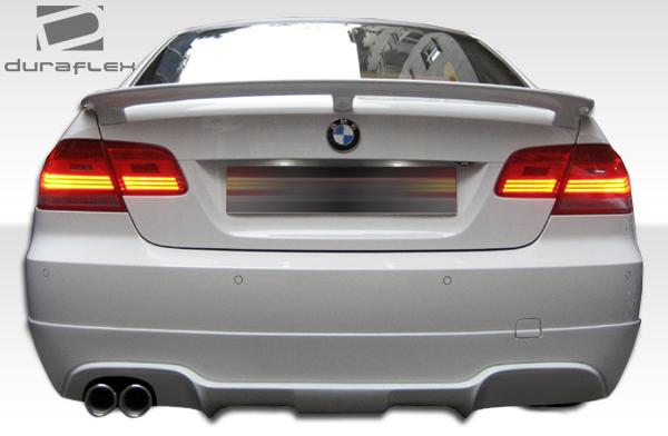 Polyurethane Rear Lip/Add On Bodykit for 2007 BMW 3 Series 2DR - 2007-2010 BMW 3 Series E92 E93 2DR Polyurethane AC-S Rear Lip Under Spoiler Air Dam (