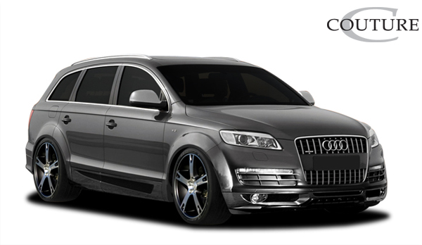 Polyurethane Bodykit Bodykit for 2007 Audi Q7 ALL - 2007-2008 Audi Q7 Couture A-Tech Body Kit - 6 Piece - Includes A-Tech Front Lip Under Spoiler Air