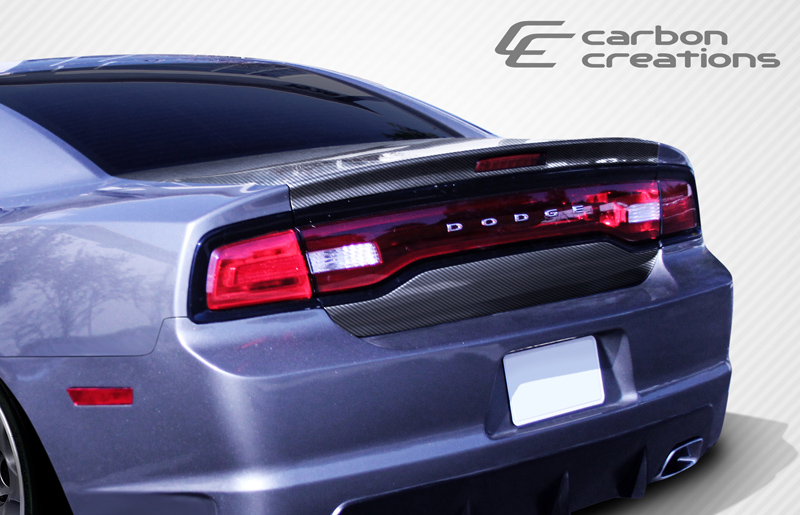 carbon fiber trunk hatch body kit for 2012 dodge charger. Black Bedroom Furniture Sets. Home Design Ideas