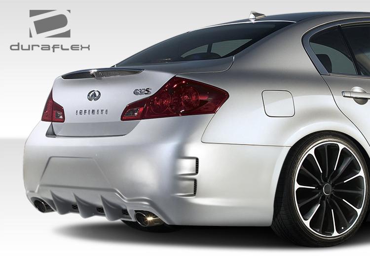 0713 Infiniti G Sedan Elite Duraflex Rear Body Kit Bumper  eBay