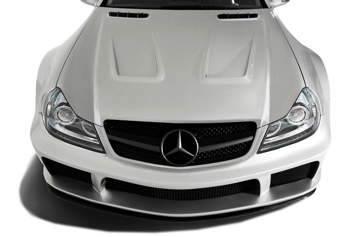 2003-2012 Mercedes SL Class R230 AF Signature 2 Series Wide Body Conversion Front Bumper Cover ( GFK )