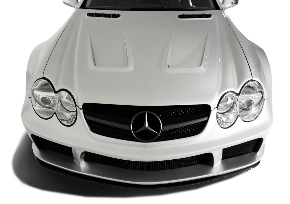 2003-2008 Mercedes SL Class R230 AF Signature 1 Series Wide Body Conversion Front Bumper Cover ( GFK )
