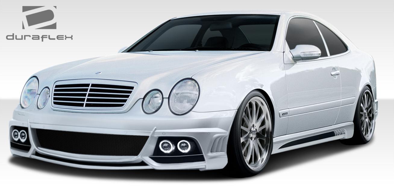 98 02 mercedes clk w 1 duraflex full body kit 108057 ebay for Mercedes benz clk black series body kit