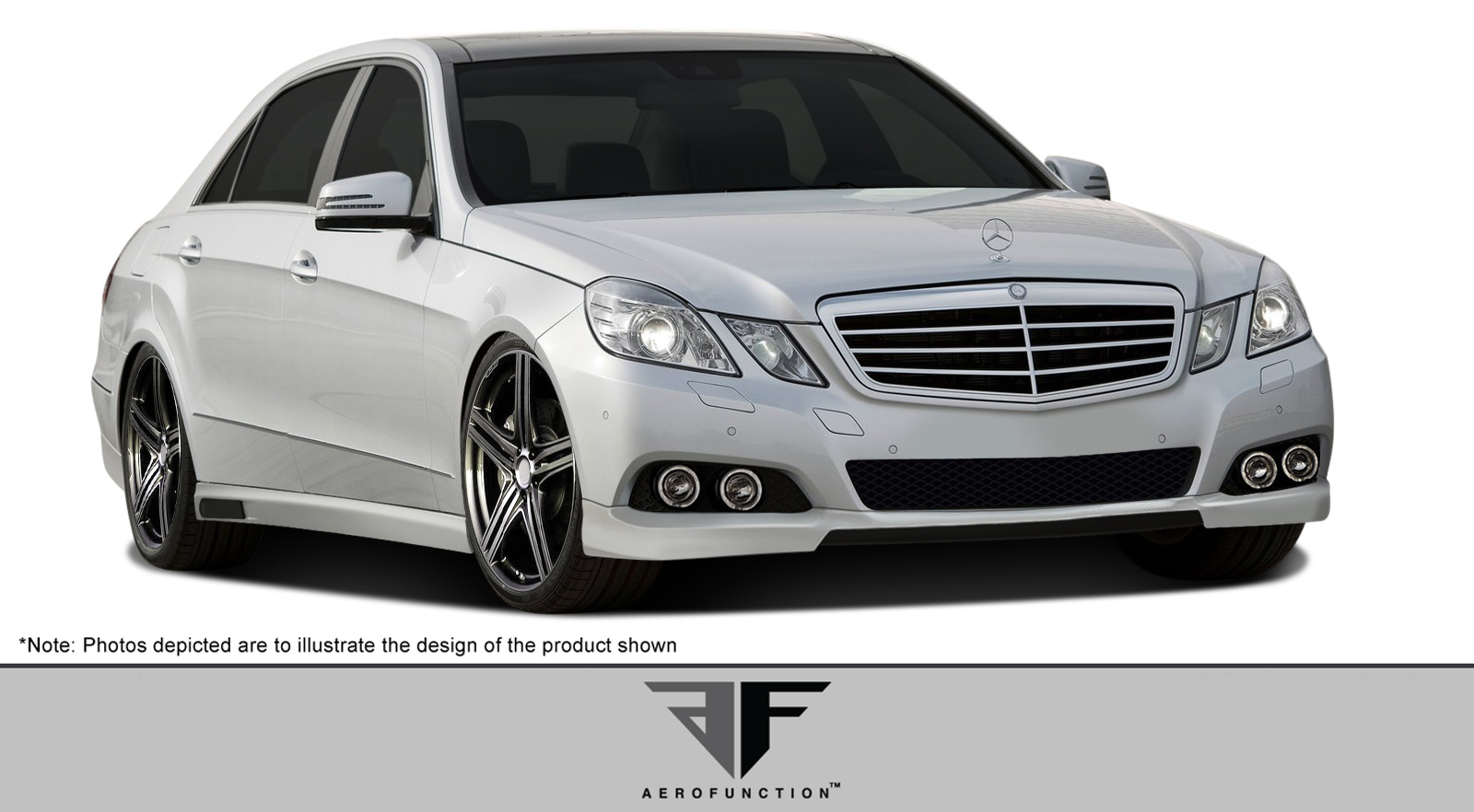 Polyurethane Bodykit Bodykit for 2010 Mercedes E Class 4DR - 2010-2012 Mercedes E Class W212 AF-1 Body Kit (base model) ( PUR-RIM ) - 5 Piece - Includ
