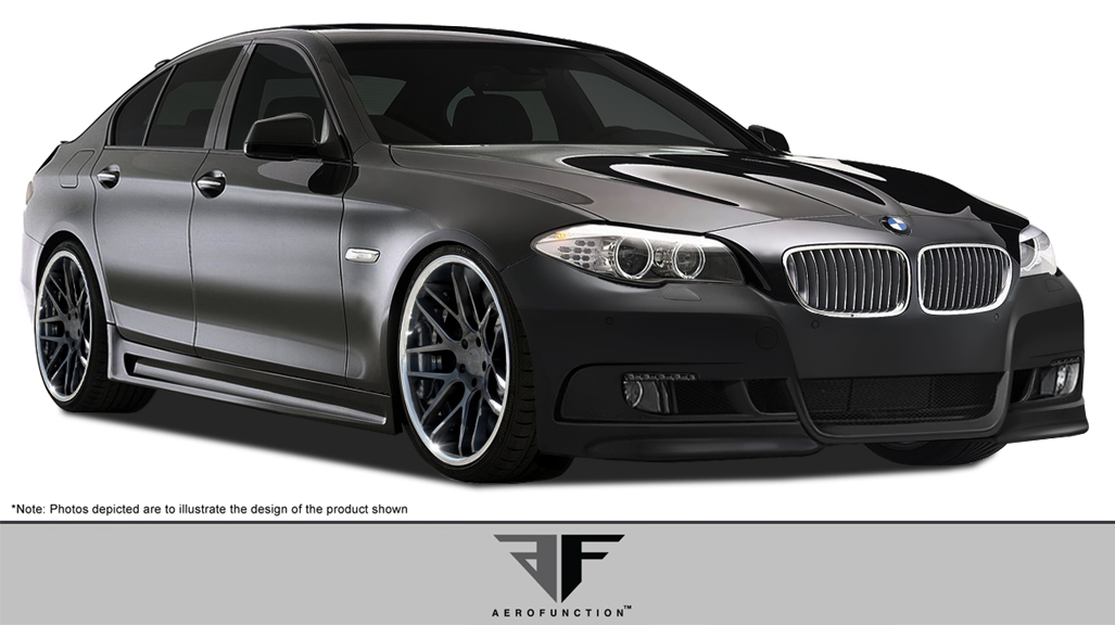 Fiberglass+ Body Kit Bodykit for 2015 BMW 5 Series 4DR - BMW 5 Series F10 4DR AF-2 Body Kit ( GFK ) - 4 Piece - Includes AF-2 Front Bumper Cover (1081