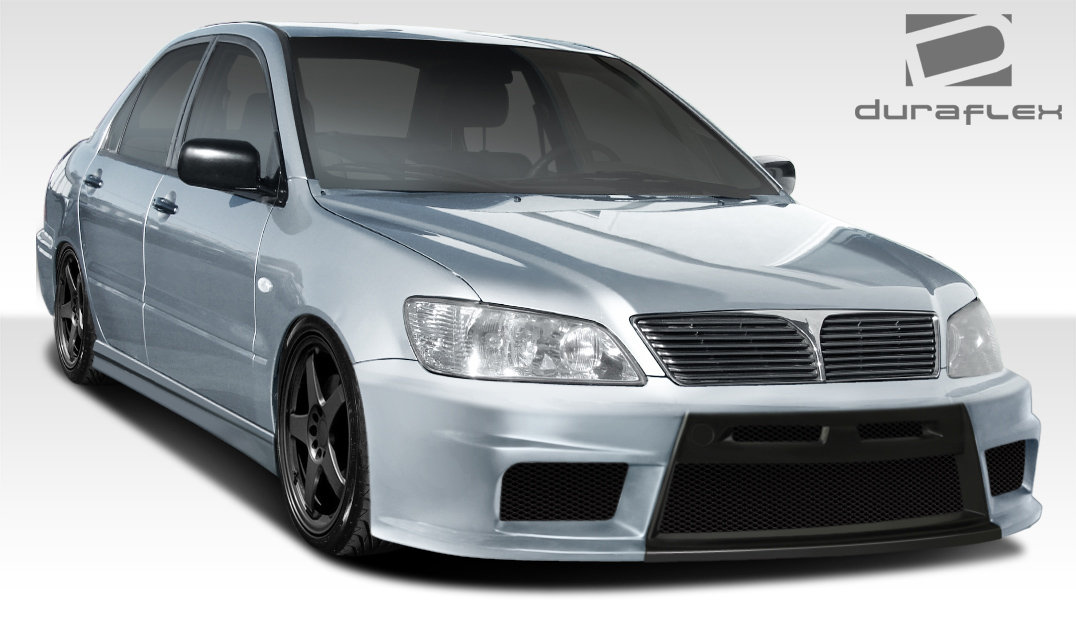 Mitsubishi Lancer 02 03 Body Kit Duraflex Evo X Look | EBay