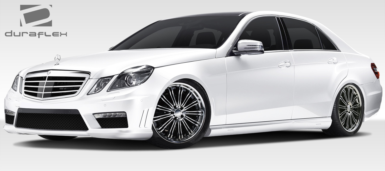 10 13 mercedes e class amg look duraflex full body kit. Black Bedroom Furniture Sets. Home Design Ideas
