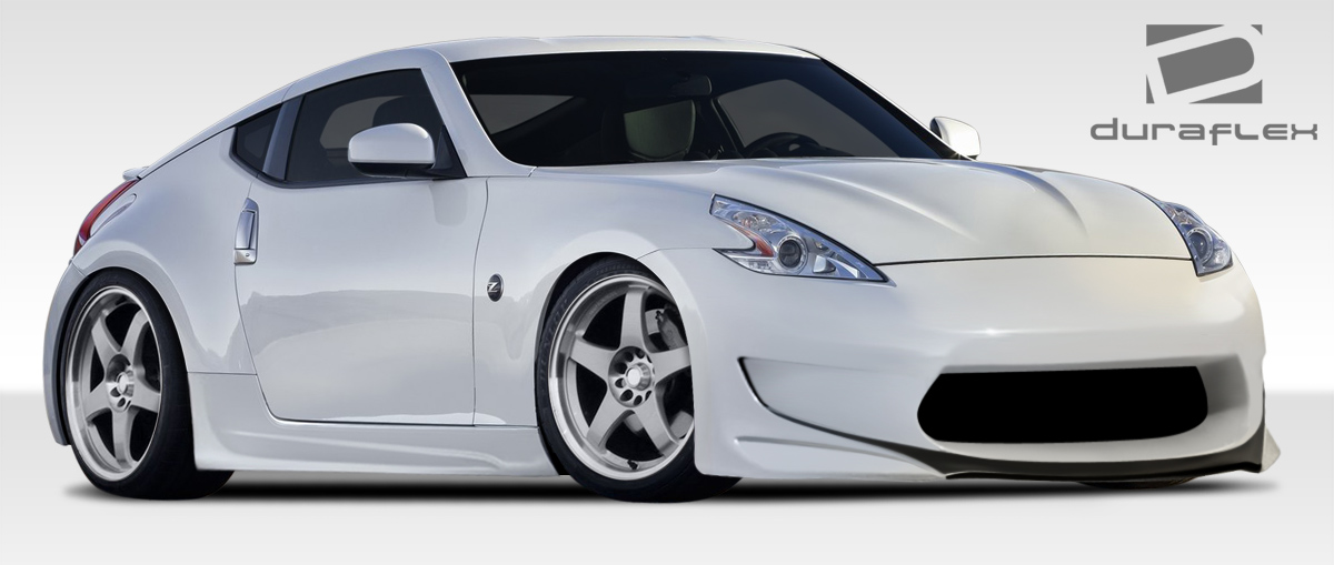 09 18 fits nissan 370z am s gt duraflex full body kit. Black Bedroom Furniture Sets. Home Design Ideas