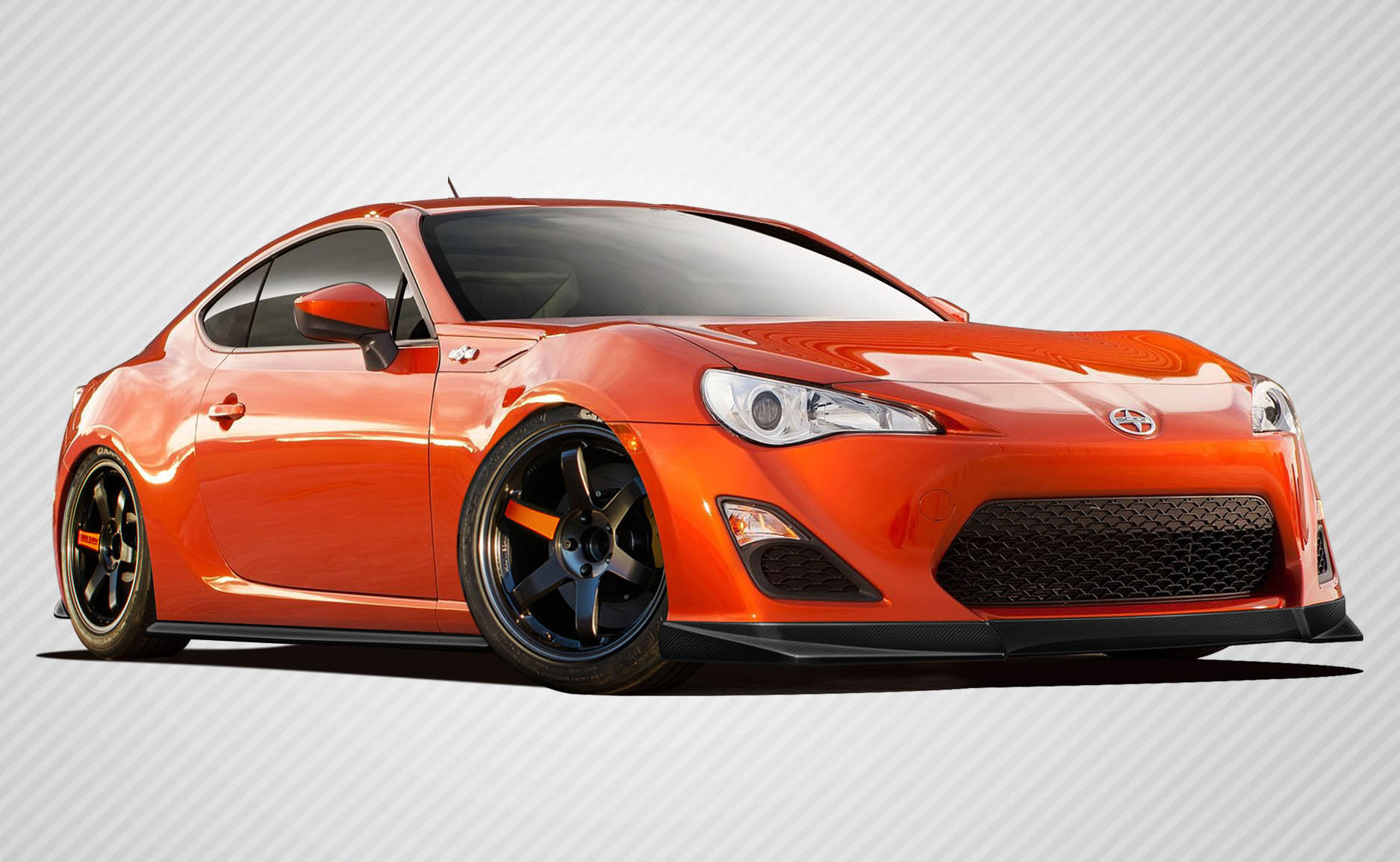Body Kit Bodykit for 2016 Scion FRS ALL - Scion FR-S Carbon Creations ST-C Body Kit - 5 Piece - Includes ST-C Front Lip Under Spoiler Air Dam